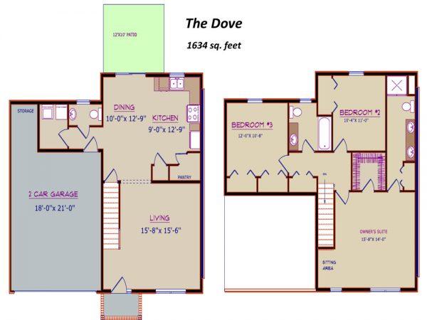 dove floor plan